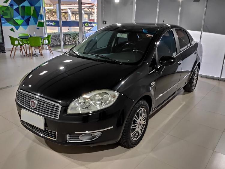 Fiat linea 1.9 lx 16v preto 2010/2010 - goiânia 1656011