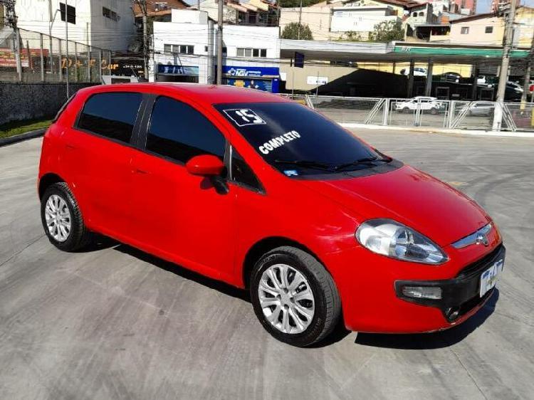 Fiat punto 1.4 attractive 8v vermelho 2014/2015 - ribeirão