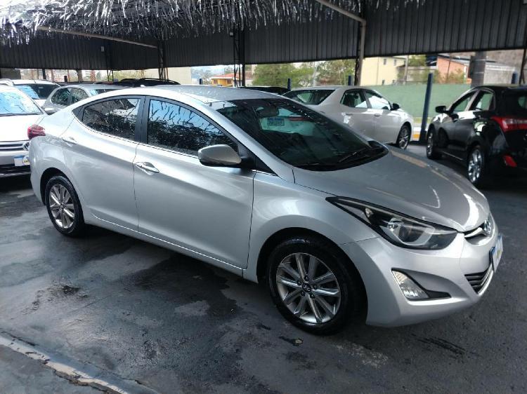 Hyundai elantra 2.0 16v prata 2013/2014 - ribeirão pires