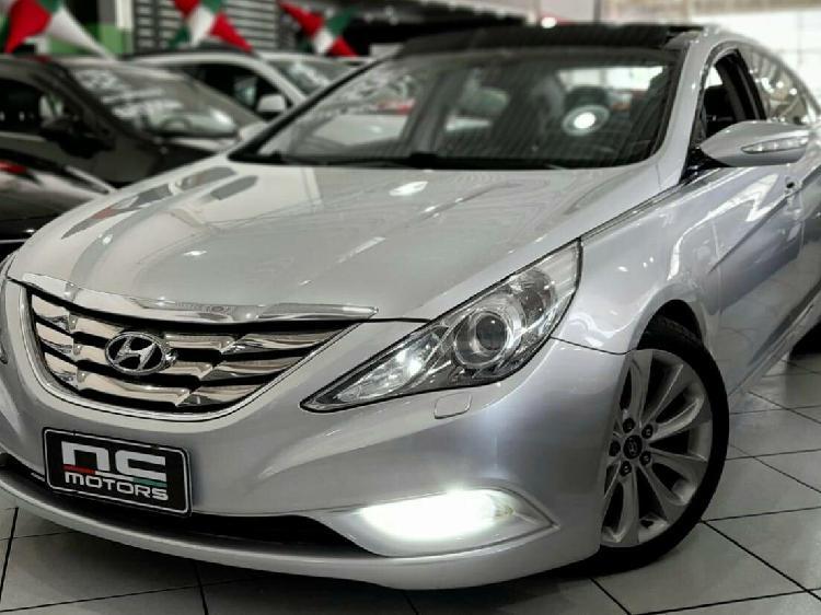 Hyundai sonata 2.4 16v prata 2011/2012 - são paulo 1628314