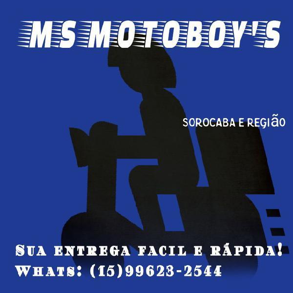 Motoboy ao seu dispor! entregas rápidas e profissional.