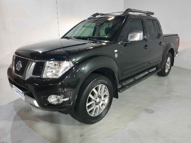 Nissan frontier 2.5 sl 10 anos preto 2012/2013 - curitiba