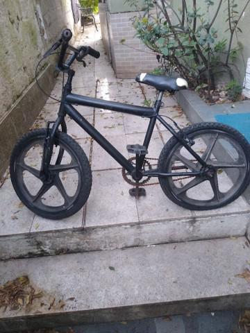 Bicicleta bmx aro 20 com rodas de nylon
