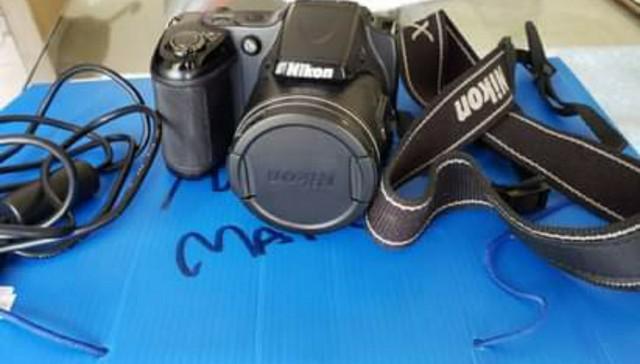 Vendo camera nikon coolpix l820 completa + bolsa