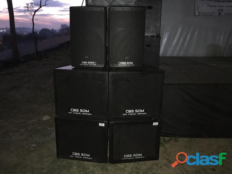 CBS SOM   Aluguel de som profissional Jaguariúna 19 99229 8201 9