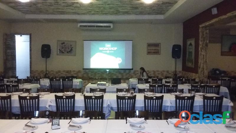 Locação de projetor / telão em Jaguariúna 19 99229 8201 2
