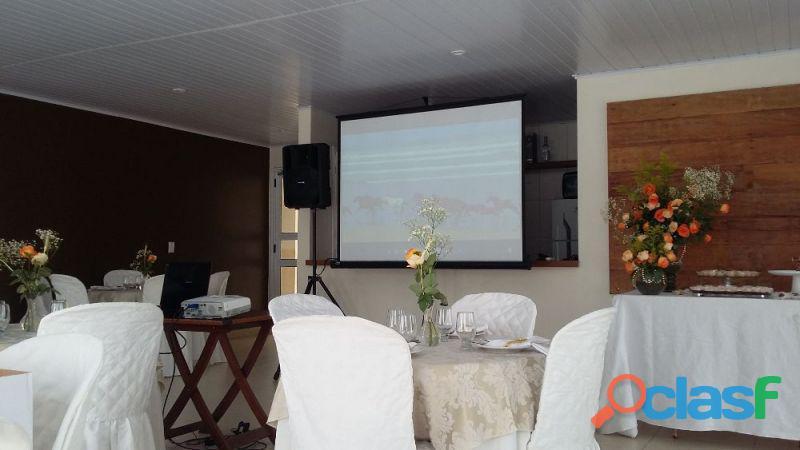 Locação de projetor / telão em Jaguariúna 19 99229 8201 3