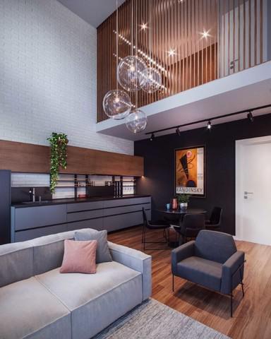 Apartamento duplex a venda em curitiba no rebouças unikko