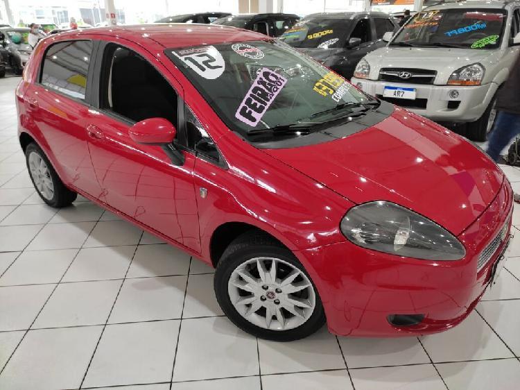 Fiat punto 1.4 attractive 8v vermelho 2012/2012 - são paulo