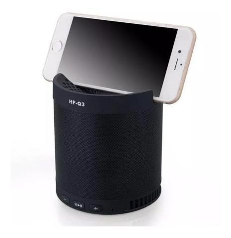 Caixa de som wireless speaker smartphone q3 - loja natan