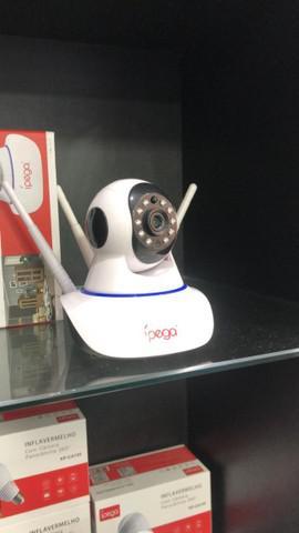 Camera segurança wifi - android/ios (lojas wiki)