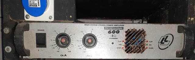 Potencia ll audio pro 600 4 oms