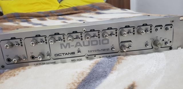 Pre amp octane m audio adat