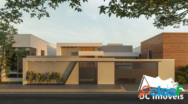 Casa nova com 3 suítes, 173m², pontal de santa marina - caraguatatuba/sp