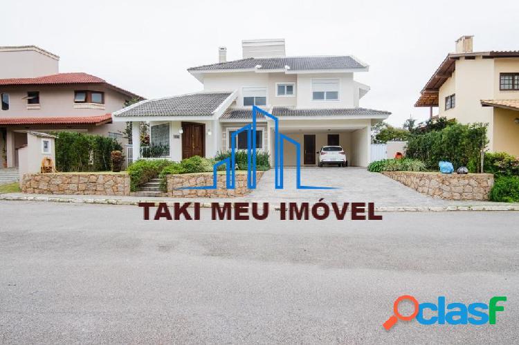 Ótima casa em cacupé, com 4 dormitórios, dep empregada, vista mar
