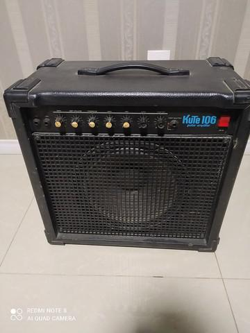 Cubo staner guitarra kute 106 100w + pedal marshall guv nor