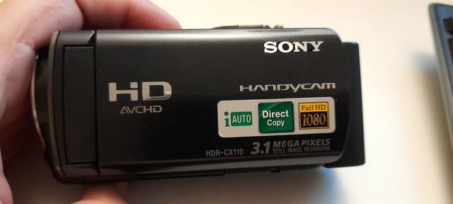 Filmadora digital full hd sony