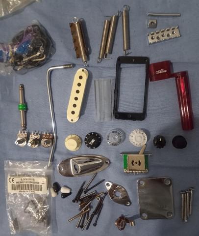 Peças/acessórios/parafusos/eletricas/chave