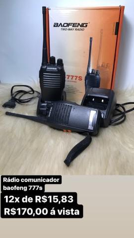 Radio comunicador baofeng 777s