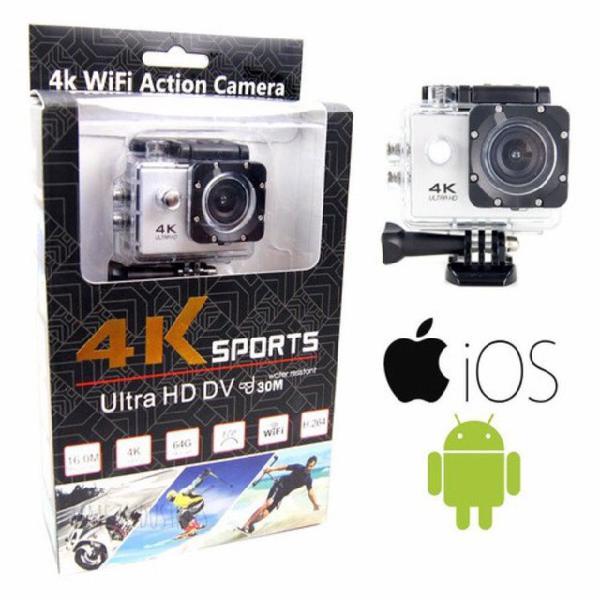 Câmera 4k wi-fi & hdmi full hd