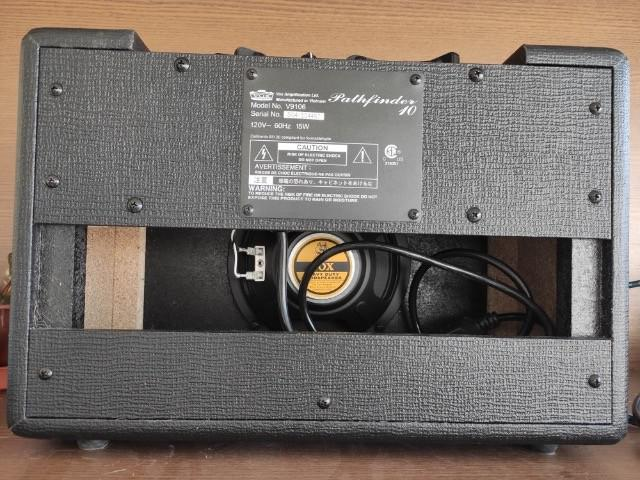 Cubo amplificador p/ guitarra vox pathfinder 10 watts