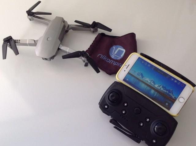 Drone e68 pro dobrável com câmera - frete gratuíto pelo