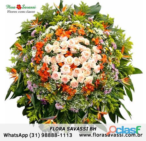 Terra santa cemitério parque sabará mg floricultura entrega coroas de flores