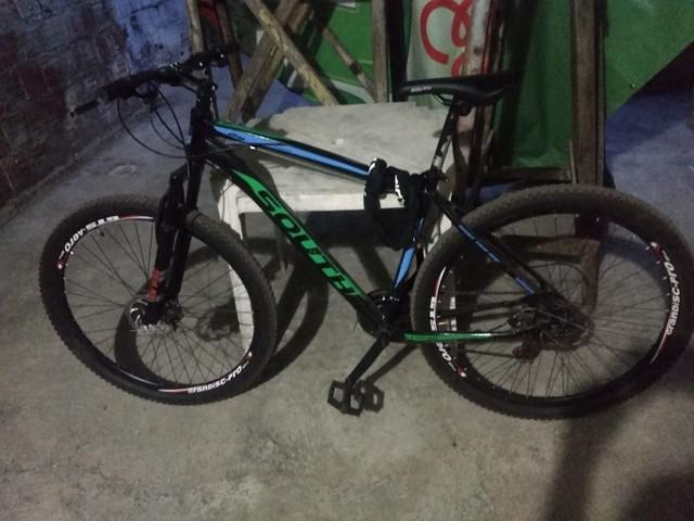Bike mtb aro 29 freios a disco