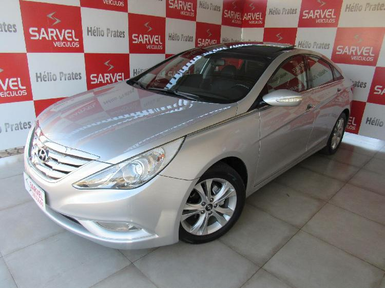 Hyundai sonata 2.4 16v prata 2011/2012 - brasília 1610425