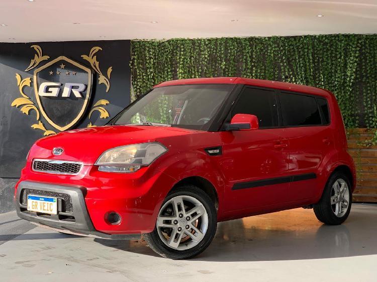 Kia soul 1.6 ex vermelho 2010/2011 - são paulo 1660552