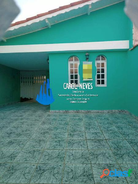 Casa 3 dormitórios churrasqueira lado praia financiamento bancário mongaguá