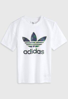 Camiseta adidas originals infantil trefoil