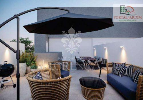 Cobertura com 2 dormitórios à venda, 110 m² por r$