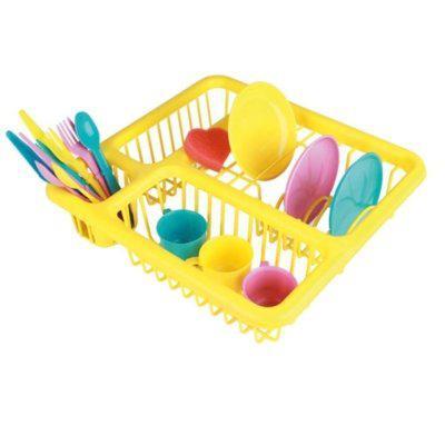 Escorredor de Loucinhas Amarelo - Brinquedos Chocolate
