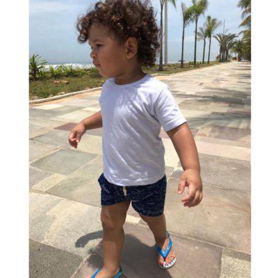 Roupa infantil menino conjunto bermuda e camiseta 1 a 6 anos