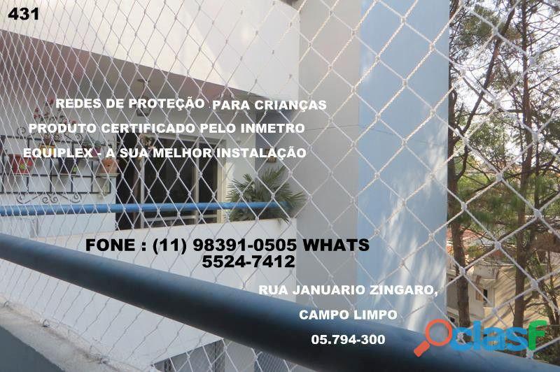 Redes de proteção no Campo limpo, rua Januario Zingaro, (11) (8391 0505 whats 2