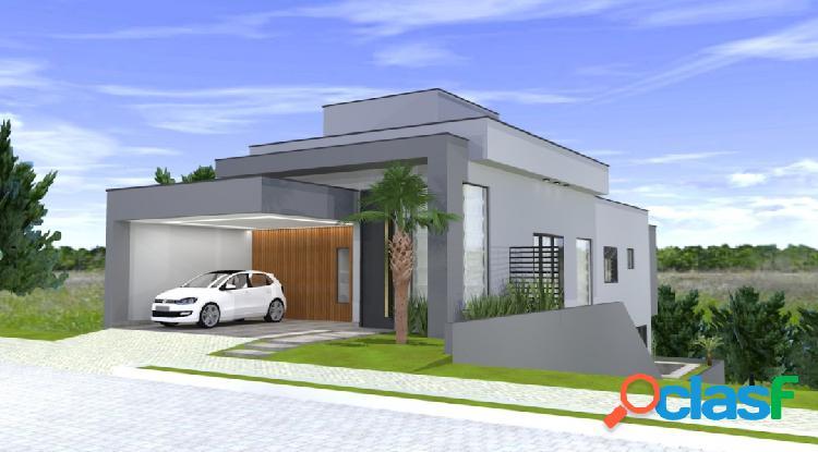 Linda casa em fase de obra, condomínio floradas urbanova