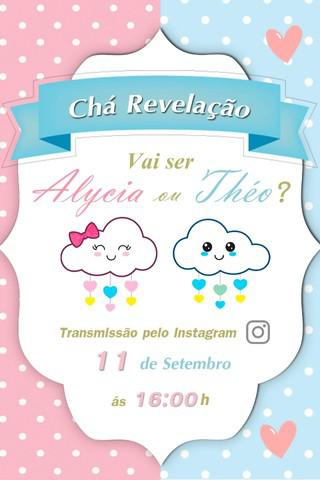 Convite digital para whatsapp