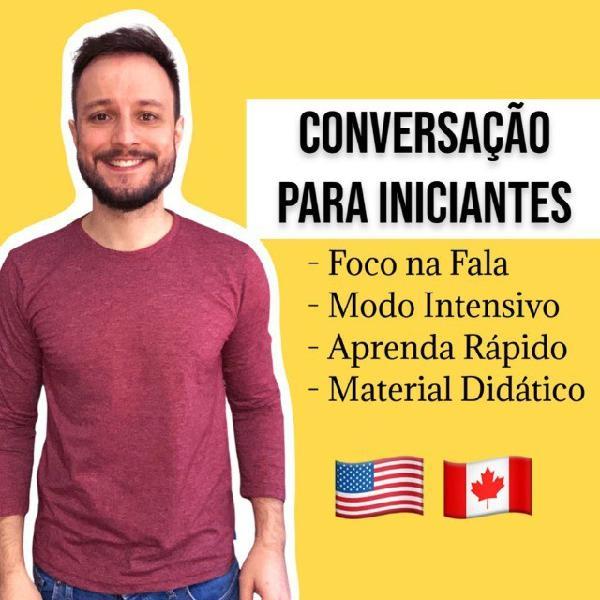 Inglês online ao vivo conversação