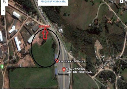 Terreno 41 mil m² fazenda rio grande com um barracão de