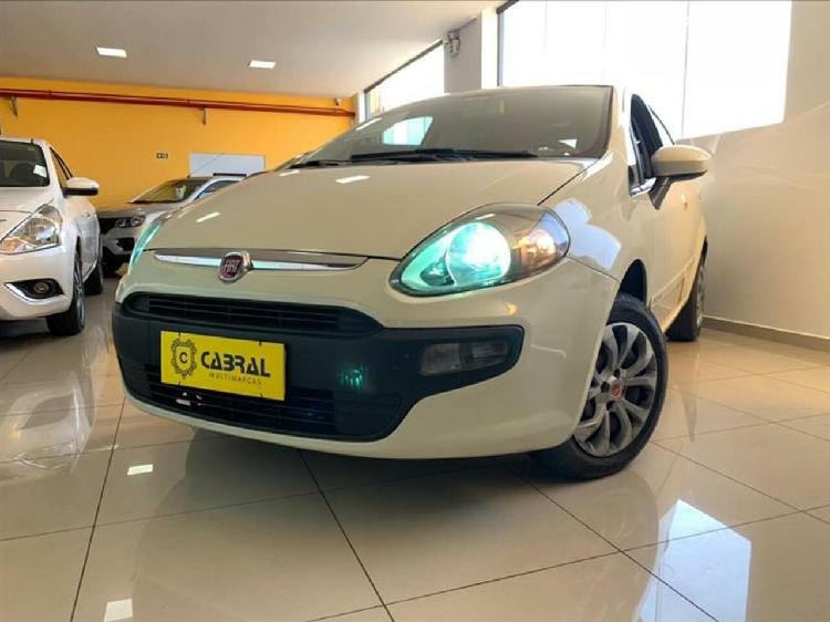 Fiat punto 1.4 attractive 8v branco 2016/2017 - curitiba