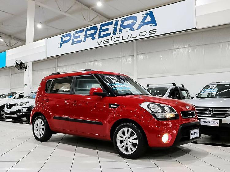 Kia soul 1.6 ex vermelho 2011/2012 - são paulo 1682561