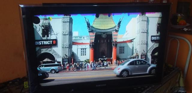 Tv lcd 32 pol samsung digital c/ avaria $$280 leia