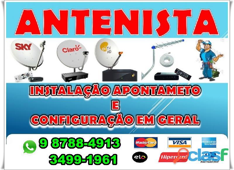 Instalador de antena boa viagem ligue 3443 8405