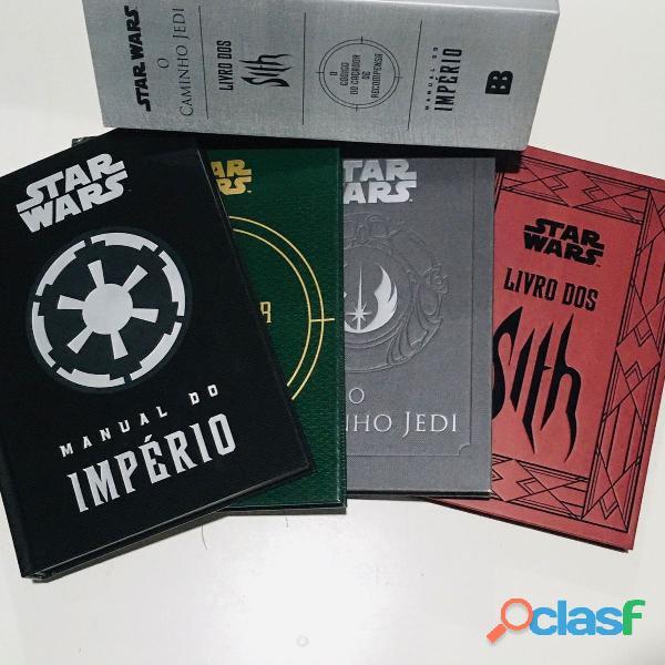 Livro Box   Star Wars