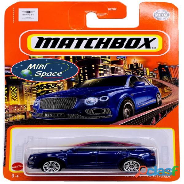 Matchbox 2018 Bentley Bentayga cor Azul 1/64 1
