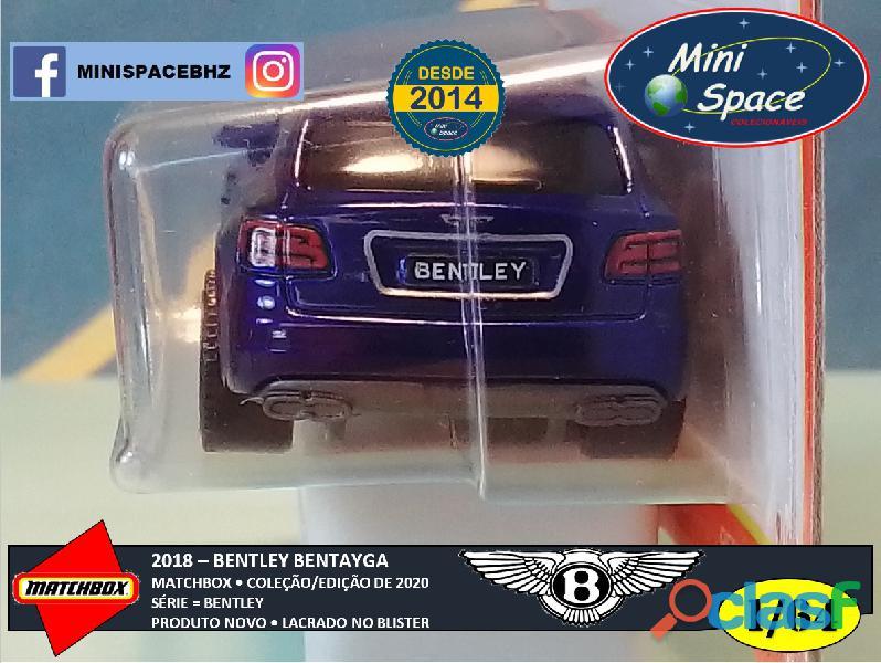 Matchbox 2018 Bentley Bentayga cor Azul 1/64 5