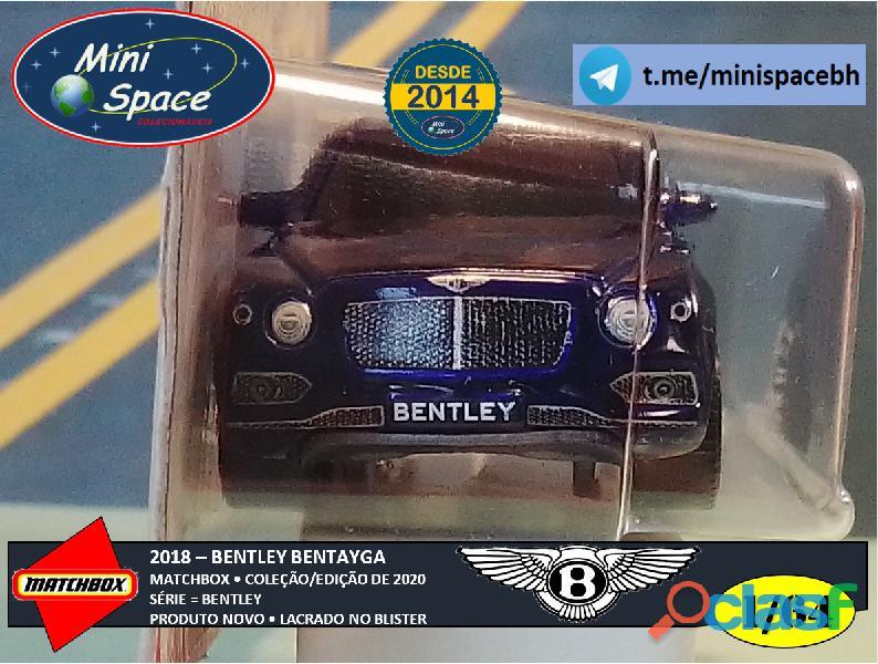 Matchbox 2018 Bentley Bentayga cor Azul 1/64 6