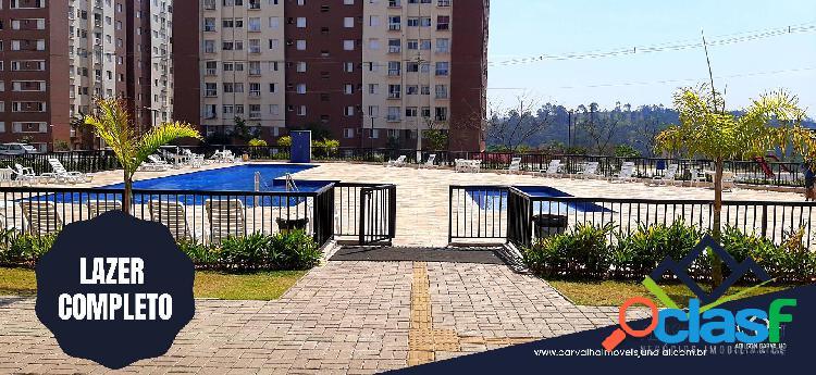 Apartamento a venda condomínio residencial paraíso - várzea paulista