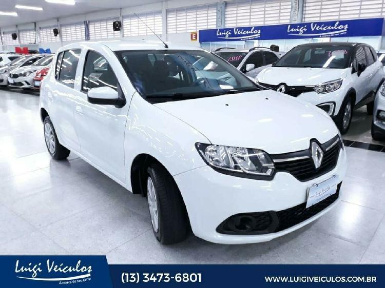 Renault Sandero 1.0 12V SCE ZEN Prata 2019/2020 - São Paulo